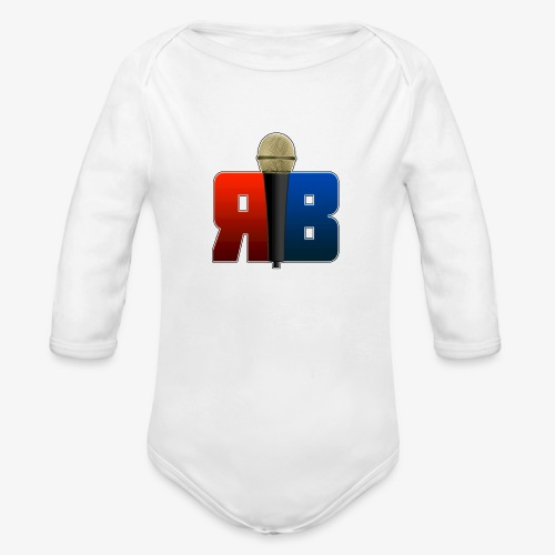 RubikBBX Logo - Organic Long Sleeve Baby Bodysuit