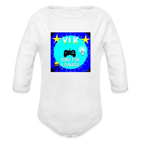 MInerVik Merch - Organic Long Sleeve Baby Bodysuit