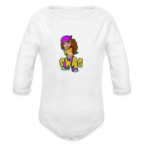 Swag - Organic Long Sleeve Baby Bodysuit