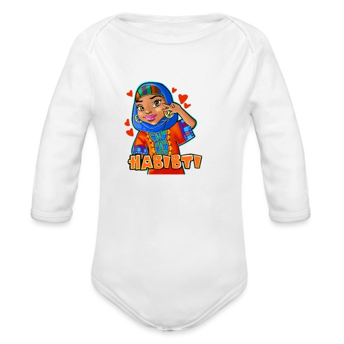 Habibti - Organic Long Sleeve Baby Bodysuit