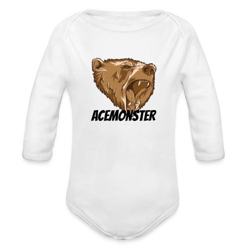 Acemonster - Organic Long Sleeve Baby Bodysuit