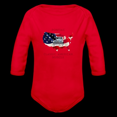 PONTIAC MUSCLE - Organic Long Sleeve Baby Bodysuit