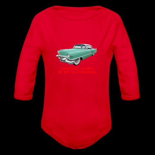 CRUISING ALONG - Organic Long Sleeve Baby Bodysuit