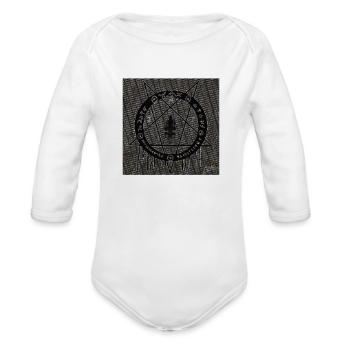 MonstarJuggaloT - Organic Long Sleeve Baby Bodysuit