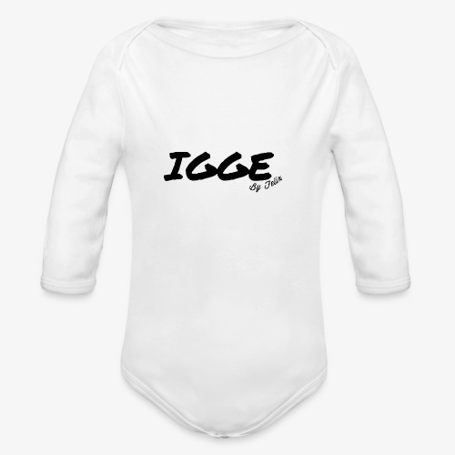 IGGE by Felix - Organic Long Sleeve Baby Bodysuit