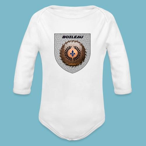 BOILEAU 1 - Organic Long Sleeve Baby Bodysuit