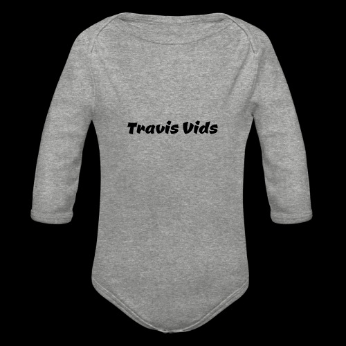 White shirt - Organic Long Sleeve Baby Bodysuit
