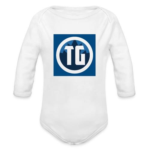Typical gamer - Organic Long Sleeve Baby Bodysuit