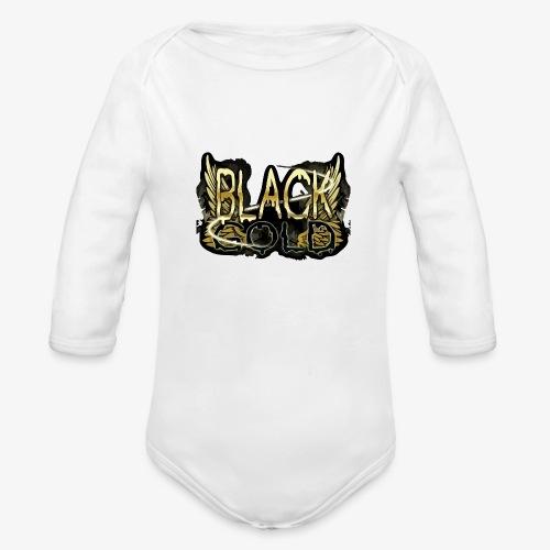 BLACK GOLD - Organic Long Sleeve Baby Bodysuit