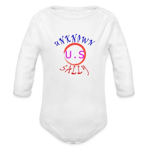 Initial Hoodie - Organic Long Sleeve Baby Bodysuit