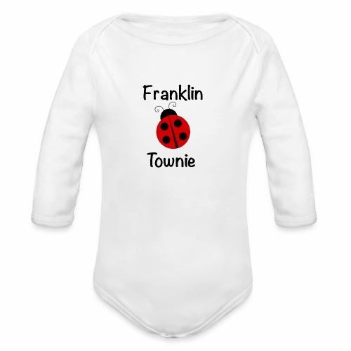 Franklin Townie Ladybug - Organic Long Sleeve Baby Bodysuit