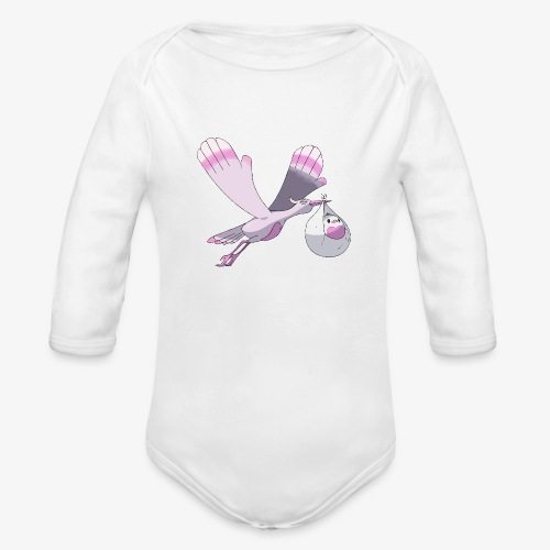 Baby's shirt - Organic Long Sleeve Baby Bodysuit