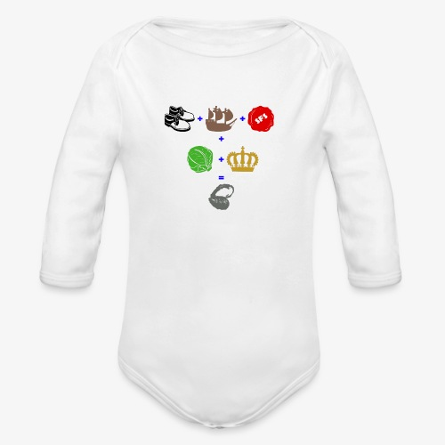walrus and the carpenter - Organic Long Sleeve Baby Bodysuit