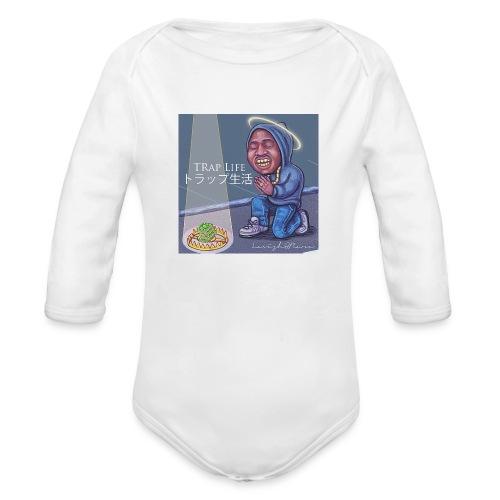 TRAPLIFE - Organic Long Sleeve Baby Bodysuit