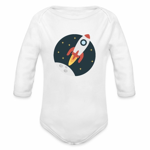 instant delivery icon - Organic Long Sleeve Baby Bodysuit