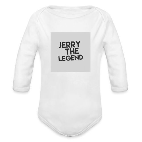 Jerry The Legend classic - Organic Long Sleeve Baby Bodysuit
