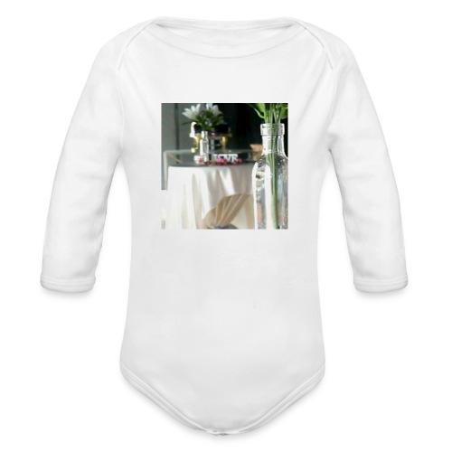 Spread the Love! - Organic Long Sleeve Baby Bodysuit