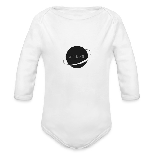 360° Clothing - Organic Long Sleeve Baby Bodysuit