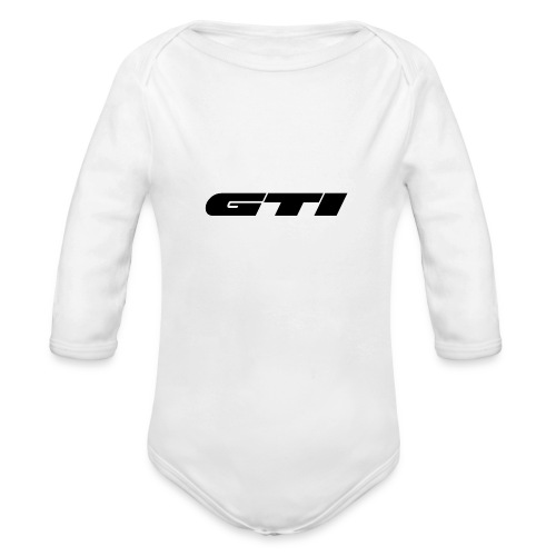 GTI - Organic Long Sleeve Baby Bodysuit