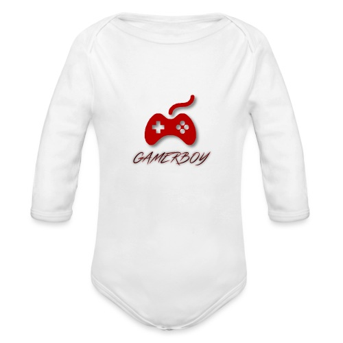 Gamerboy - Organic Long Sleeve Baby Bodysuit