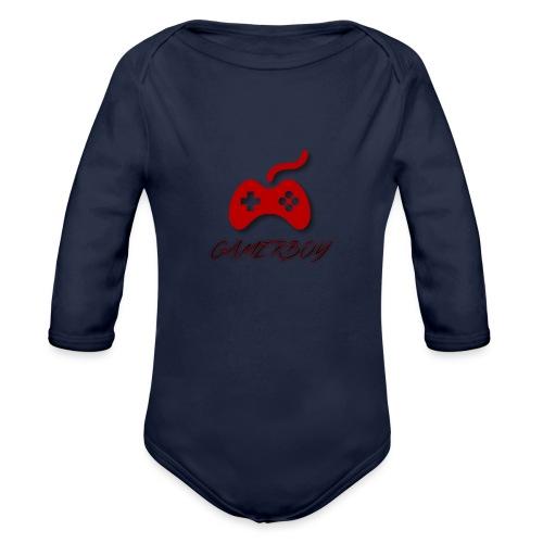 Gamerboy - Organic Long Sleeve Baby Bodysuit