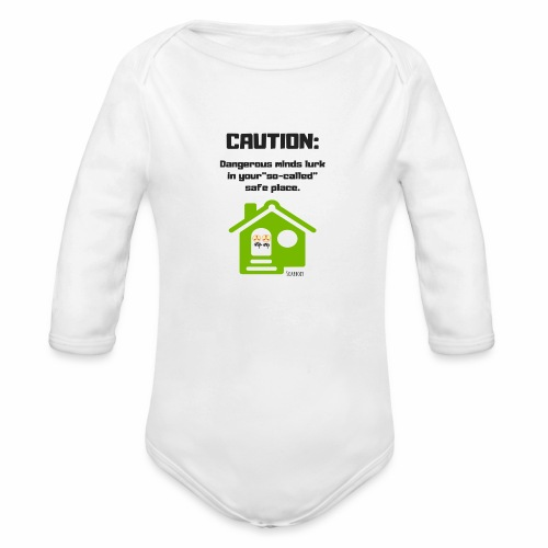 Dangerous minds - Organic Long Sleeve Baby Bodysuit