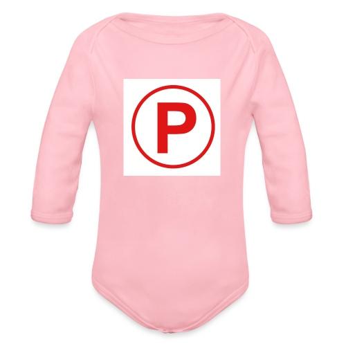 Presto569 Gaming Logo - Organic Long Sleeve Baby Bodysuit