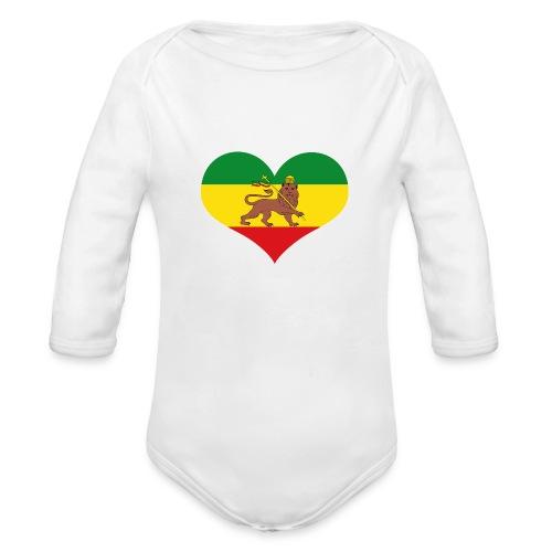 vps Logo - Organic Long Sleeve Baby Bodysuit