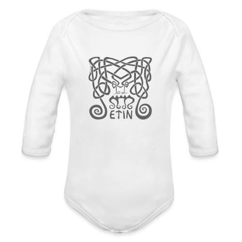 Frost Giant - Organic Long Sleeve Baby Bodysuit