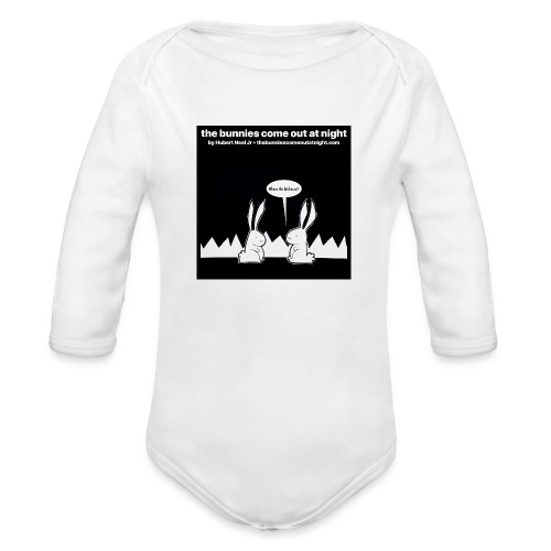 tbcoan Where the bitches at? - Organic Long Sleeve Baby Bodysuit