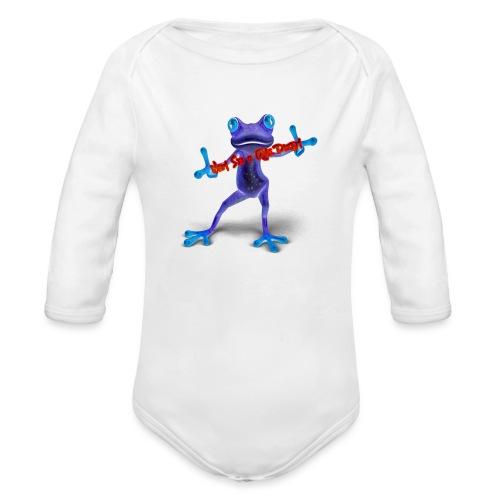 Logo - Nem Sei o Que Dizem - Podcast - Organic Long Sleeve Baby Bodysuit