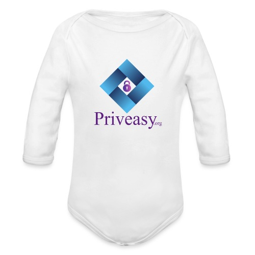 Design 2 - Organic Long Sleeve Baby Bodysuit