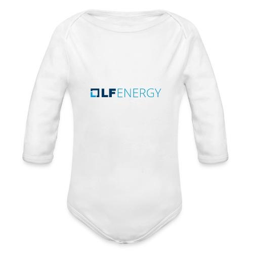 LF Energy Color - Organic Long Sleeve Baby Bodysuit