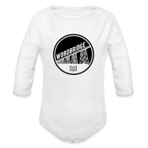 WordBridge Conference Logo - Organic Long Sleeve Baby Bodysuit