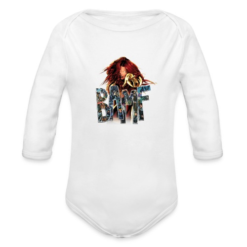 phoenix png - Organic Long Sleeve Baby Bodysuit