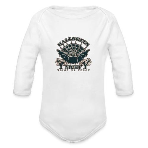 Halloween - Organic Long Sleeve Baby Bodysuit