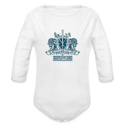 Fight Like a Girl 2 - Organic Long Sleeve Baby Bodysuit
