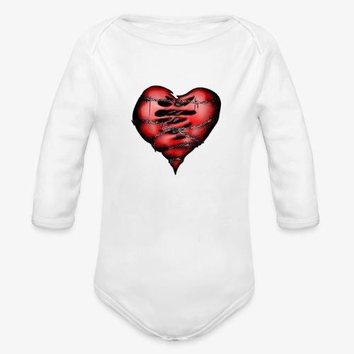 Chains Heart Ceramic Mug - Organic Long Sleeve Baby Bodysuit