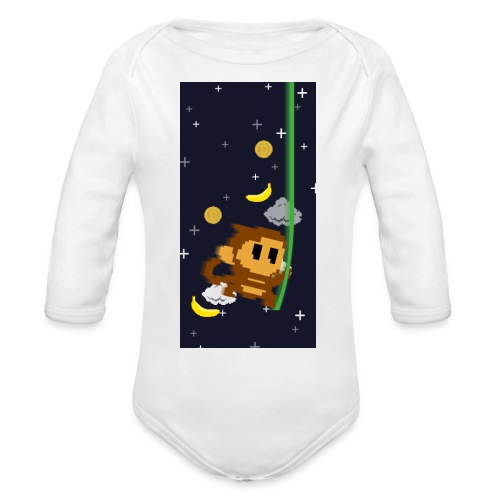 case2 png - Organic Long Sleeve Baby Bodysuit