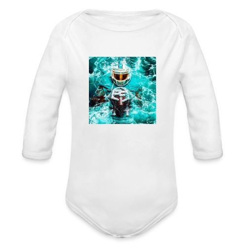 JUICY LANDRY - Organic Long Sleeve Baby Bodysuit