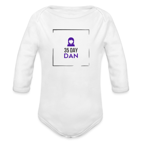 35DD Gal - Organic Long Sleeve Baby Bodysuit