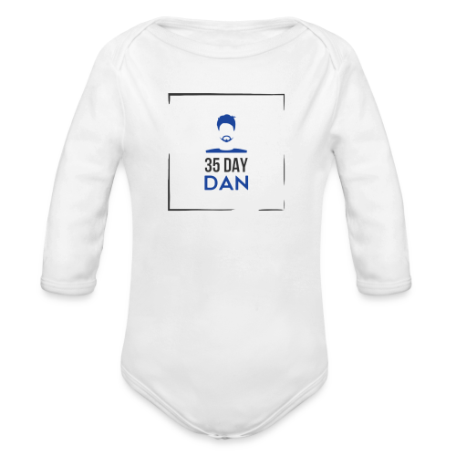 35DD Male - Organic Long Sleeve Baby Bodysuit