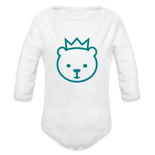 Berlin bear - Organic Long Sleeve Baby Bodysuit