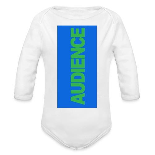 audiencegreen5 - Organic Long Sleeve Baby Bodysuit