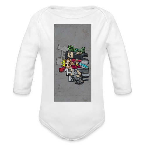 sparkleziphone5 - Organic Long Sleeve Baby Bodysuit