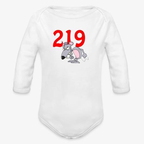 Region Rat - Organic Long Sleeve Baby Bodysuit