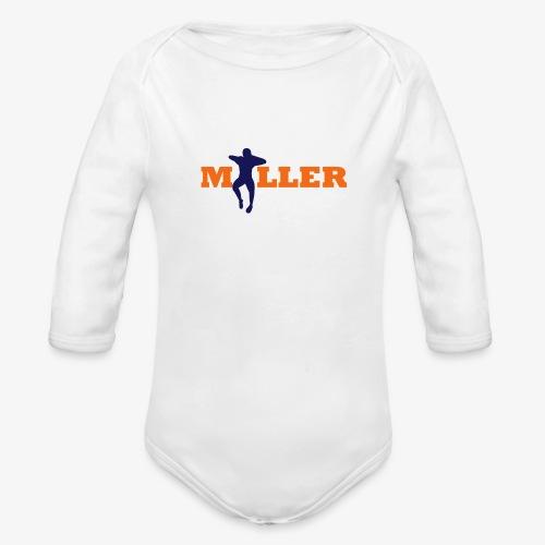 vonmiller dance2 - Organic Long Sleeve Baby Bodysuit