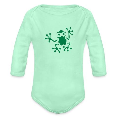 grenouille - Organic Long Sleeve Baby Bodysuit