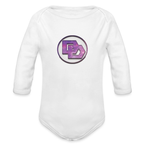 DerpDagg Logo - Organic Long Sleeve Baby Bodysuit