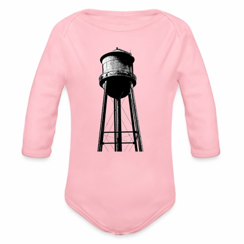 Water Tower - Organic Long Sleeve Baby Bodysuit